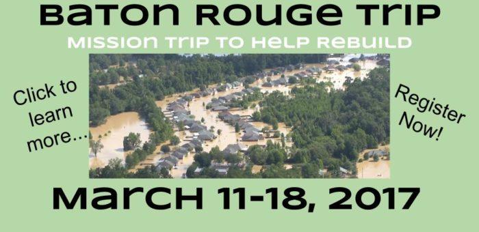 baton rouge trip march 11-18
