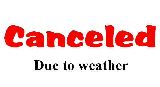 Our Front-Lawn Worship Service for Sep 6 has been canceled